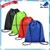 Lj1-215 Personalized Nylon No-Woven Drawstring Bag with Logo Shopping Backpack
