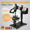 Digital Swing Away Hat Ball Cap Heat Press Transfer Sublimation Machine
