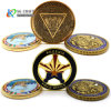 Free Sample Cheap DIY Custom 3D Metal Craft Enamel Coin-Operated-Dancing-Game-Machine Nypd Seal Us Army Navy Security Police Military Challenge Coin