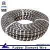 Reinforced Concrete Cable Saw with Rubber+Spring Fixing