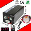 1500W DC-AC Inverter 12VDC or 24VDC to 110VAC or 220VAC Pure Sine Wave Inverter with AC Charge CE RoHS Approved