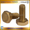 DIN933 Copper Hex Bolts Brass Hexagon Bolt M3 M4 M5