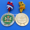 Custom Souvenir Medals with Ribbon, Sport Medals and Trophys with Personalized Logo Wholesale