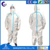 Disposable Protective Clothing SMS Non-Woven Protective Isolation Suit Clothing with FDA