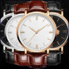 Yxl-406 Promotional New Style Quartz Watch Mens Watches Fashion Leather Stainless Steel Wrist Watch Wholesale