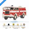 Wholesale Fire Fighting Truck Enamel Car Pin Badge Shield Tissus World