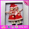 2017 New Products Lovely Dolls Wooden Kids Christmas Toys W02A238