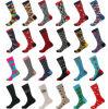 Custom Made America Style Cotton Fashion Men Crew Dress Socks Mens Funky Stylish Socks