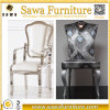 Rose Gold Stainless Steel White Wedding Chairs Product