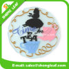 Householder Custom Cartoon Colorful Silicone PVC Coaster (SLF-RC020)