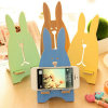 Wholesale Detachable Lovely Wood Prison Break Rabbit Phone Holder