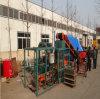 Qt4-20 Semi Automati Hydraulic Concrete Brick Machine in China