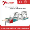 Side Sealing Plastic Garment Bag Making Machine with Folder