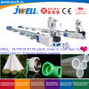 Jwell- PE|PPR|PE-Rt|PA Plastic 16-75mm Single or Dual- Pipe Recycling Agricultural Making Co-Extrusion Machine with Integrated Flow Control Valve|Servo-Control
