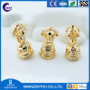 Cast Copper Bell Accessories Trumpet Magic Wand Bell-Shaped Hollow Bell Pure Copper Die-Casting Jewelry