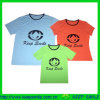 Customized Fashion Family T-Shirts with Logos on Chest