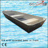 V14 Aluminum Fishing Boat with Extended Base in Front (V14)