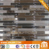 Entrance Emperador Marble and Glass Mosaic (M815122)