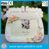 Delicate Garden Scene Handbag Picture Frames Decoration