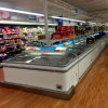 Island Freezer Supermarket Combination Display Freezer Chest Type Freezer