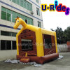 Commercial Horse Inflatable Bouncer Inflatable Trampoline Bounce House For Kids