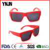 Promotional Women Square Red Color Sun Glasses (YJ-2017)
