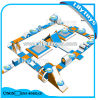 Hot Summer New Inflatable Floating Aqua Water Park for Lake