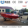 China High Quality Galvanized Boat Trailer with Roller