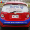 One Way Vision Printing Car Advertising Banner for Windows