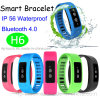 Bluetooth 4.0 Smart Bracelet with IP56 Waterproof (H6)
