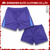 Customised High Quality Plain Soccer Shorts Purple (ELTSSI-7)