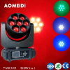 China RGBW Mixing 4in1 LED Moving Head Lights Stage Lighting