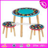 Wholesale Cheap Primary and Kindergarten Wooden Toddler Chair and Table with High Quality W08g226