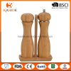 Mill Type Ceramic Mechanism Bamboo Salt and Pepper Shaker