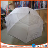 White Double Layers Durable Golf Umbrella