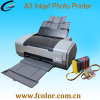 A3 Sublimation Printing Machine with 1390 Photo Printer