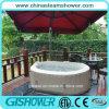 Ellipse Inflatable Outdoor Aqua SPA Whirlpool (pH050012 Coffee)
