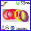 Mixed Color Silicone Bead Bracelet Small Round Silicone Bracelet