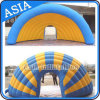 Outdoor Blue Inflatable Advertising Event Tent for Stage Covers