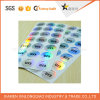 Fast Security Label Printing Customized Logo Paper Adhesive Hologram Sticker