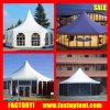 Luxury Aluminum Frame Hexagon Tent with Glass Wall PVC Wall Optional