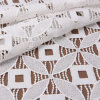 Eco-Friendly White Crochet Recyable Polyester Embroidered Lace