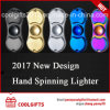 2017 New Design Electric Hand Spinning USB Charged Cigarette Lighter