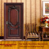 Classic Black Walnut Entry Wooden Door (GSP2-024)