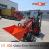 Everun 600kg Farming Machine Mini Wheel Loader with Grapple Forks
