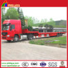 China Heavy Equipment Low Bed Trailer with Hydraulic Steering Axles