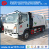 HOWO 5m3 Garbage Truck 5cbm Waste Collector Truck
