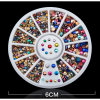 Nail Art Decorations Rhinestone in 12 Color for Nail Accessories for Hinestones Decorations