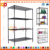4 Tier House Office Closet Storage Wire Shelving Stand Unit (Zhw55)