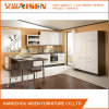 Modern High Gloss Lacquer Finished Custom Kitchen Cabinet Design